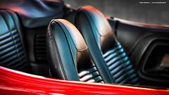 1970 Dodge Challenger Convertible - Shot 2 (Dejan Marinkovic Photography) Tags: 1970 dodge challenger convertible american muscle car mopar red classic cardetail bucketseats interior