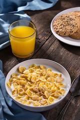 Breakfast (fb.com/SlavaGalaka) Tags: breakfast morning cereal flakes juice home love warm foodphotographer food foodstyling foodphotography foodporn foodphoto slavagalaka ukraine canon