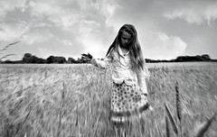 She Moves With The Fayre (plot19) Tags: love family daughter light landscape nikon north northern northwest olivia liv plot19 photography portrait people england english uk britain british blackwhite black country field