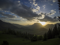 P4280088 (turbok) Tags: berge grimming landschaft sonnenstrahlen sonnenuntergang stimmungen c kurt krimberger