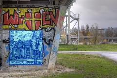 Perk Up (Herbalizer) Tags: perk up wien österreich wall wand brücke brückenpfeiler bridge austria graffiti street art mural