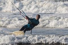 Kitesurf (David A.L.) Tags: asturias asturies gijón kitesurf agua mar olas