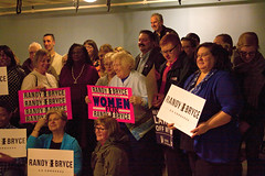 Women for Randy Bryce Event Racine Wisconsin 3-28-18 Randy is the tall man with the mustache standing in the back 1341 (www.cemillerphotography.com) Tags: wisconsin congress politics politician campaign female rally meeting gathering
