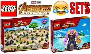 Funny Lego Avengers Infinity War Sets !!!