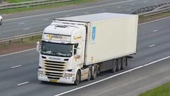 07-BGT-2 (panmanstan) Tags: scania r450 wagon truck lorry commercial dutch international freight transport haulage vehicle a1m fairburn yorkshire