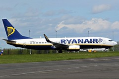 EI-ESN RYANAIR BOEING 737 NEWCASTLE AIRPORT (toowoomba surfer) Tags: jet aeroplane airline airliner aviation aircraft ncl