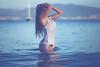 Noelia (ribadeluis) Tags: water galicia atlantico luznatural natural nature naturallight sensuality sensual mujer women femme bikini atardecer sunset airelibre eos6d canon canoneos6d canonef70200mmf28lusm portrait retrato sexy wet