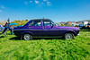 DSCF4622 (gordonplant) Tags: monmouth wales unitedkingdom gb fordescort 1300e vintageford purplecar