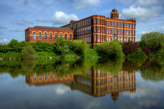 COPPULL RING MILL, COPPULL, CHORLEY, LANCASHIRE, ENGLAND. (ZACERIN) Tags: coppull ring mill mavis lancashire cotton industry architecture zacerin christopher paul photography courtaulds chorley spinning coppullringmill mavismill lancashirecotton lancashirecottonindustry christopherpaulphotography cottonspinningmill cottonindustry coppullmill