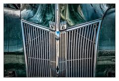 V 8 (Rick Olsen) Tags: car automobile automotive v8 chrome green old