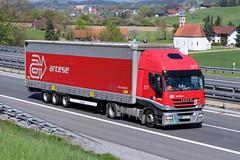 Iveco Stralis / Arcese Slovensko (karl.goessmann) Tags: iveco stralis arcese bratislava truck