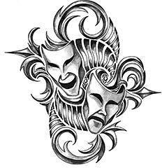 Iron Tribal Masks Ta