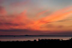 Sunrise 4.25am 21st May 2018  (9 of 9) (Philip Gillespie) Tags: edinburgh sunrise scotland sun sky clouds sea forth canon 5dsr nature morning water landscape seascape pink orange blue hour peach peaceful peace tranquility