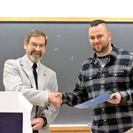Award for Excellence in Undergraduate Teaching by a Graduate Student: Michael Perino
