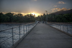 Mission Beach Pier (pbr42) Tags: australia queensland hdr missionbeach pier sunset sky