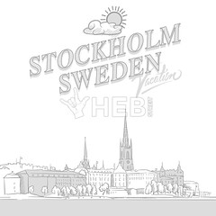 Stockholm travel marketing cover (Hebstreits) Tags: architecture art background building city cityscape cover drawing drawn elements europe european exterior famous graphic hand headline history house illustration ink landmark landscape line marketing old outdoor panorama scandinavia scandinavian scene sea set silhouette sketch stockholm street structure sweden tourism town travel typo urban vacation vector view white