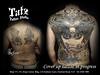 201805201 (tatzstudio) Tags: tatz tattoo studio hongkong hk tsimshatsui tst kowloon tattoos shop coverup backpiece samurai peony japanese black grey