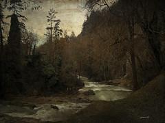 #River (graceindirain) Tags: river mountain textured graceindirain