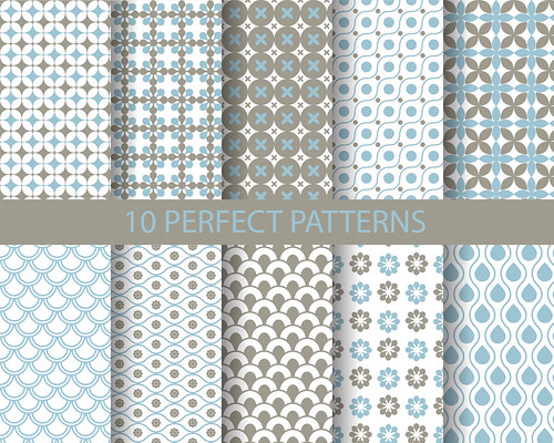 "10 cute blue geometric patterns • <a style=""font-size:0.8em;"" href=""http://www.flickr.com/photos/151084956@N05/41645655852/"" target=""_blank"">View on Flickr</a>"