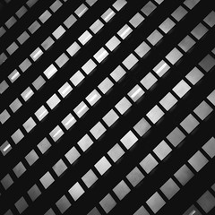 Hundred Rooms (s.W.s.) Tags: pattern architecture architectural building city urban montreal quebec canada windows glass grid shape light abstract blackandwhite nikon d3300 lightroom