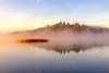 Quiet Trout Lake Morning (optimalfocusphotography) Tags: northerncalifornia california usa landscape siskiyoucounty water nature mist lake sky fog shasta cascade mountshasta sunrise