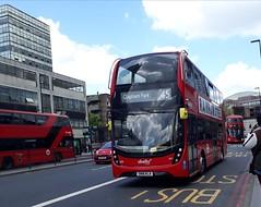 New: Abellio London 2611 SN18KLA | 45 to Clapham Park (Unorm001) Tags: sn18kla sn18 kla 2611 45 red london double deck decks decker deckers buses bus routes route diesel hybrid electric dieselelectric battery batteryelectric hybridelectric
