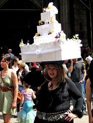 Cake Topper (jennifer.dubernas) Tags: 2011 easter bonnet parade nyc manhattan newyork cake