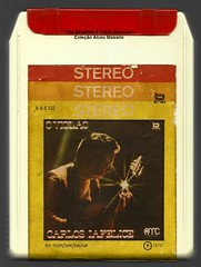 "1973 - Carlos Lafelice / O Violão - brazil 8 track - fita cartucho de 8 pistas (""The Brazilian 8 Track Museum"") Tags: alceu massini vintage collection violão guitar player samba mpb bossa jazz"