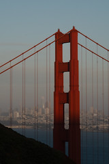 The changing view (charlottes flowers) Tags: goldengatebridge iconicview sanfrancisco foggybackground