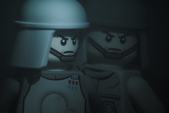 jealousy (aka revenge of the fifth) (jooka5000) Tags: dialogue imperial lego starwars officer driver atst deathstar toys photography photo storytelling toybox legography portrait revengeofthefifth toyphotography