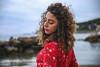 Manu (pucciarellic) Tags: model cousin modella cugina curly curlyhair ricci capelli capelliricci sea mare roma rome italia italy santamarinella canon canon6d 6d 2470mm tamron portrait ritratto