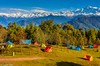 Camping at Deoria Tal (Explored) (Sougata2013) Tags: deoriatal chopta uttarakhand india himalaya himalayanrange camping explore flickr