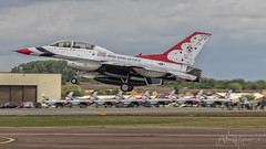 United States Air Force General Dynamics F-16DJ Fighting Falcon 91-0479-3 (benji1867) Tags: united states air force general dynamics f16dj fighting falcon 910479 riat riat2017 riat17 royal international tattoo raf fairford airshow show display demo demonstration 2017 17 aeriel team nellis afb base thunderbirds 57th wing klsv nv nevada avgeek avporn aviation jet fighter trainer bomber strike aircraft usaf america fly flight flying