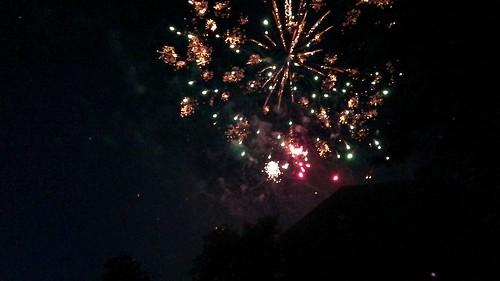 Feuerwerk bei der Gösselkirmes