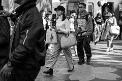 Walk This Way, Talk This Way (burnt dirt) Tags: asian japan tokyo shibuya station streetphotography documentary candid portrait fujifilm xt1 bw blackandwhite laugh smile cute sexy latina young girl woman japanese korean thai dress skirt shorts jeans jacket leather pants boots heels stilettos bra stockings tights yogapants leggings couple lovers friends longhair shorthair ponytail cellphone glasses sunglasses blonde brunette redhead tattoo model train bus busstation metro city town downtown sidewalk pretty beautiful selfie fashion pregnant sweater people person costume cosplay hat cap bag