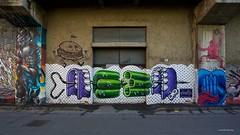 IMGP9774 Street Art (Claudio e Lucia Images around the world) Tags: murales graffiti streetart milano vialemonza ferrovia via pontano milanese pentax pentaxk3ii sigma sigma1020 pittura face faccia murale art viapadova padova persone