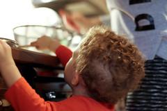 Nana's Helper (Amanda Emilio) Tags: people child boy nephew kitchen family life moment cooking canont6 toddler