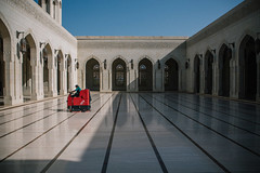 Zamboni Vibes (dogslobber) Tags: yellow oman middle east travel explore adventure omani arabian arabia peninsula muscat grand mosque