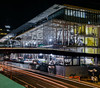 moscone final phase 3 construction (pbo31) Tags: bayarea california nikon d810 color may 2018 spring boury pbo31 sanfrancisco city urban night dark black panoramic large stitched panorama howardstreet soma mosconecenter construction over phase3 bridge lightstream traffic roadway motion