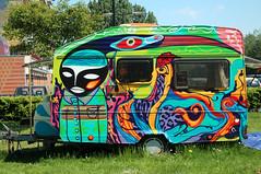 graffiti in Amsterdam (wojofoto) Tags: amsterdam nederland netherland holland graffiti streetart wojofoto wolfgangjosten art caravan bijlmer