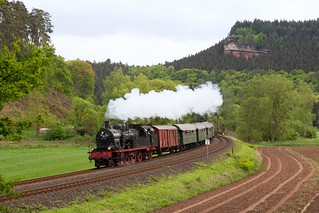ETL 78 468 auf dem Weg von Trier nach Gerolstein kurz vor Kordel