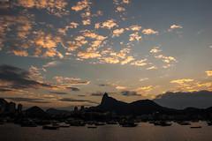 Urca (Pedro Gelio) Tags: urca pôrdosol riodejaneiro sunset cristoredentor brasil