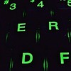 Daily Keyboard, 50/100X (clarkcg photography) Tags: macrofriday daily keyboard type letters keys 134x134 lighted lightedkeys green 100xthe2018edition 100x2018 image50100