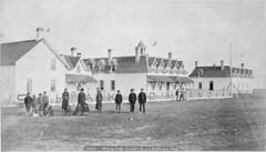 Elkhorn Residential School, 1900 (vintage.winnipeg) Tags: manitoba canada vintage history historic elkhorn