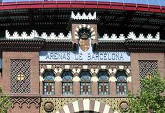 bullfighting ring (axiepics) Tags: barcelona 2018 koningsdam mediterranean europe spain