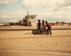 Gimli - Bike Drag racing (vintage.winnipeg) Tags: winnipeg manitoba canada vintage history historic gimli