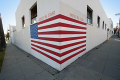 united we stand (Orrin) Tags: usa wall painting losangeles lenstagged mural flag americanflag wideangle patriotic redwhiteandblue 1022mm unitedwestand canonefs1022mmf3545usm moo1