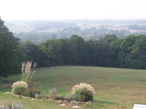 View from Chaumette Winery, Ste. Genevieve, MO