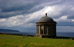 Mussenden Temple, side view (Caroline, Kelly, Connor & Jesse) Tags: tag3 taggedout topv333 tag2 tag1 2006 downhill londonderry northernireland nationaltrust ulster countylondonderry 444v4f 123faves colondonderry