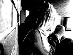 celina (Nelehuw) Tags: light bw white black norway dark sweater hands tears sad close celina sorrow nofriends kodal andebu